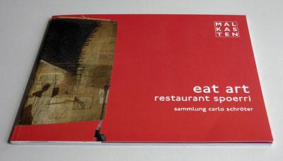 Eat Art, Katalog zur Ausstellung der Sammlung Schröter im Malkasten
