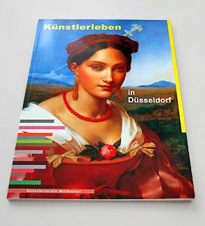 Künstlerleben in Düsseldorf, herausgegeben vom Künstlerverein Malkasten
